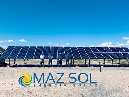 Proyecto de bombeo solar a 800' de profundidad
