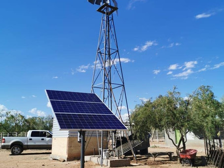 Bombeo Solar y Sistema Isla con baterías