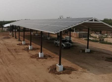 Etapa 2: Montaje de 50 KW de paneles solares