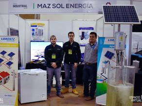 MAZ SOL ENERGÍA en la Expo Industrial 2018
