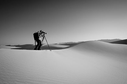 private photography workshop sand dunes
