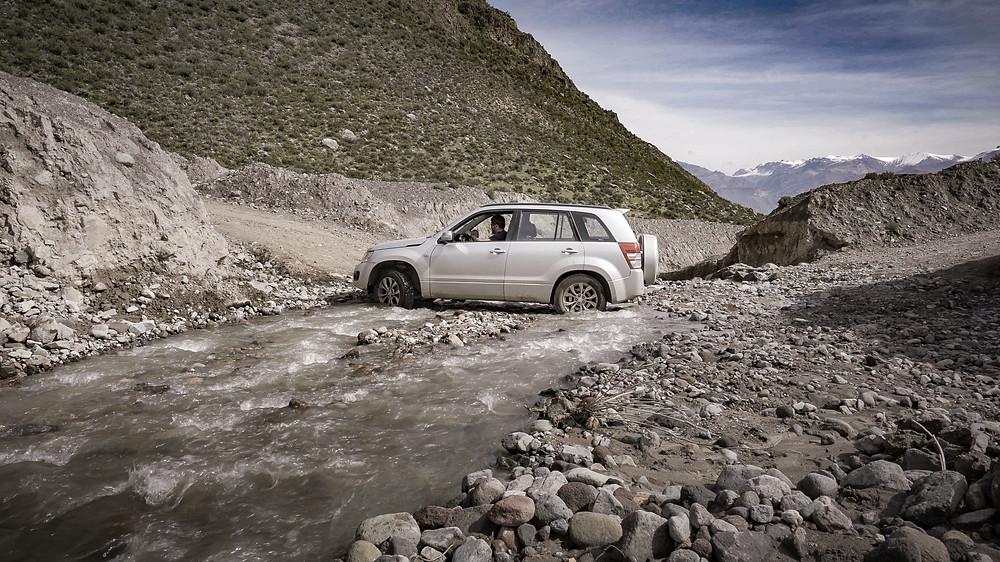 4WD offroad in peru