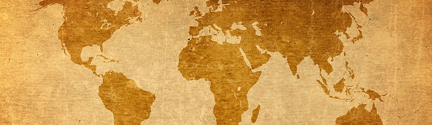 Faded world map background