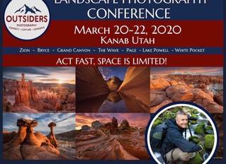 Dan Speaking at OUTSIDERS Landscape Photography Conference