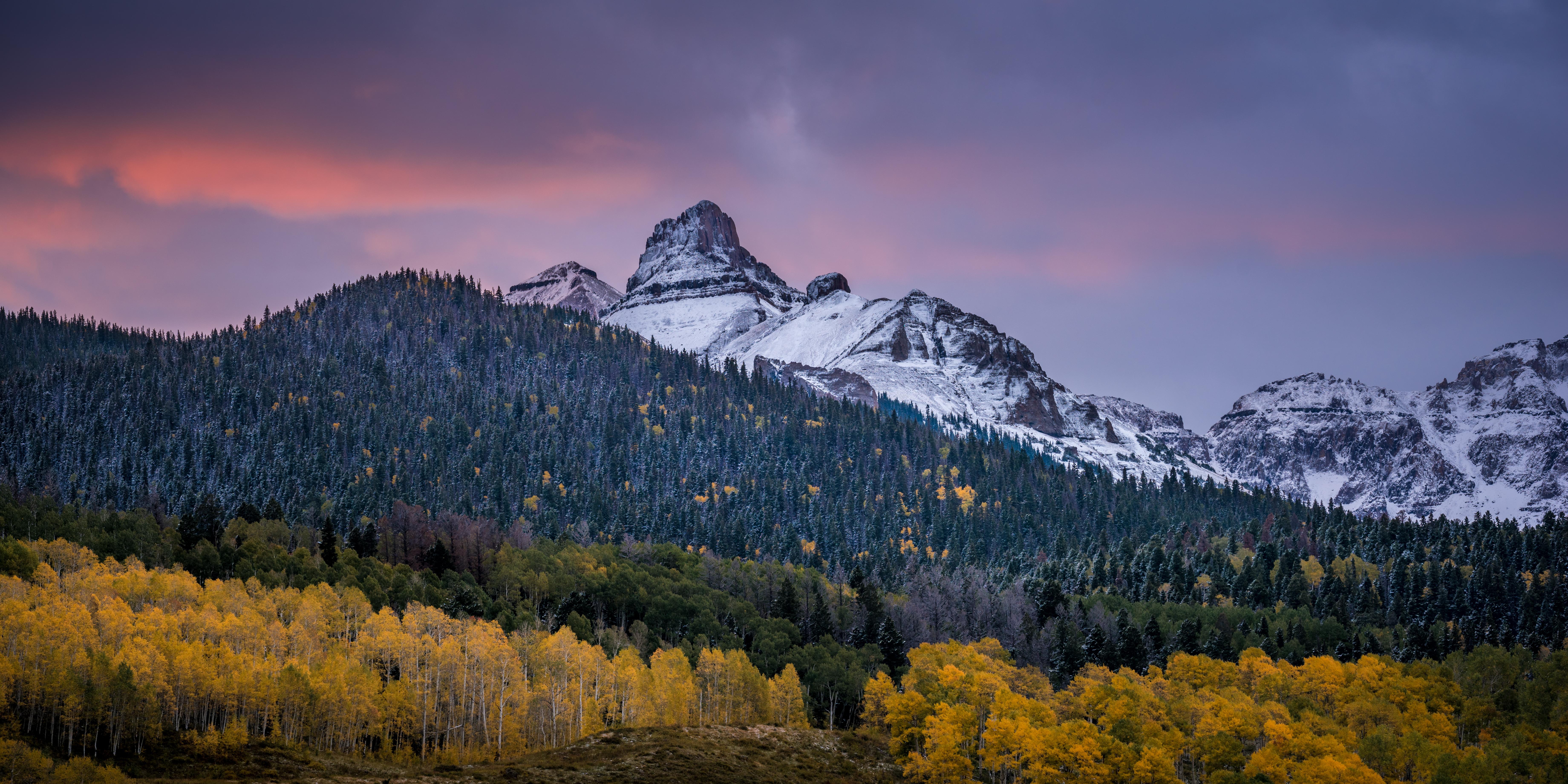 fall color in colorado photography
