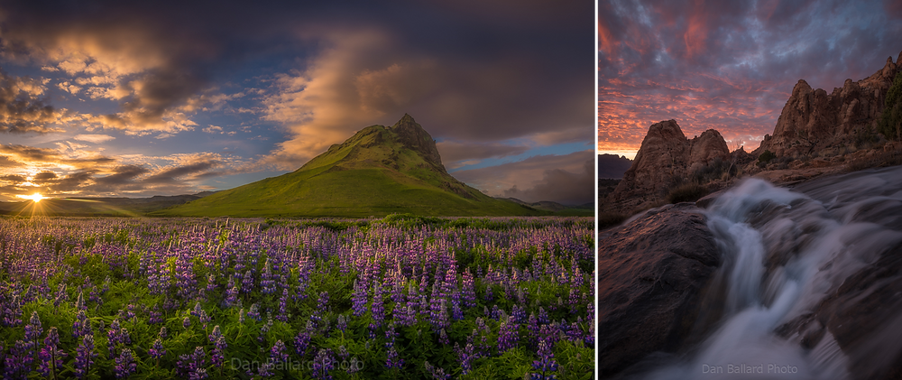 iceland and moab utah - how to find images