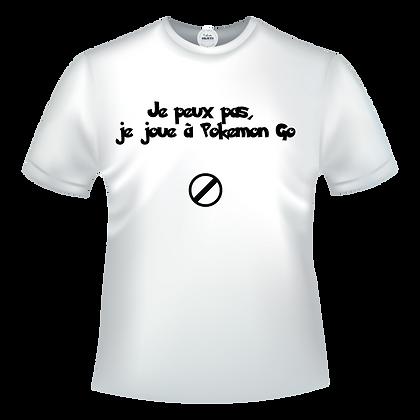 Je peux pas, je joue à Pokemon Go