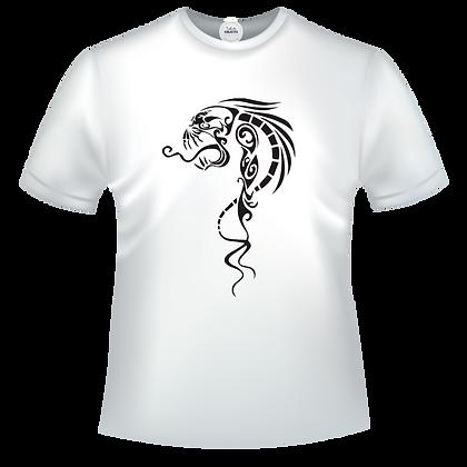 Mystique dragon tribal squelette os