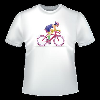 Textiles aux choix marqué avec un dessin de cyclisme multicolor à partir de 9,99€ T-shirts, polos, chemise,