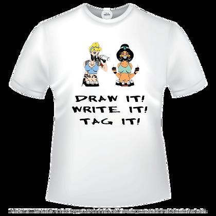 Draw it, Write it, Tag it