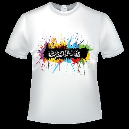 Graffiti multicolor à personnaliser avec un prénom