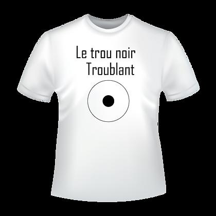 T-shirt imprimé éco-solvant avec textes et images ou personnalisation