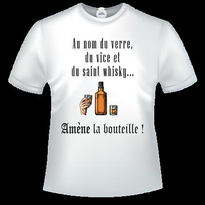 Au nom du Verre  du Vice  et du Saint Whisky  Amen la Bouteille