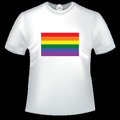 Drapeau coleur gay pride