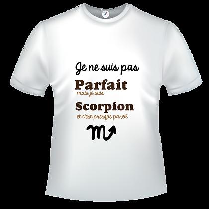 Je ne suis pas parfait(e) mais je suis scorpion c'est presque p