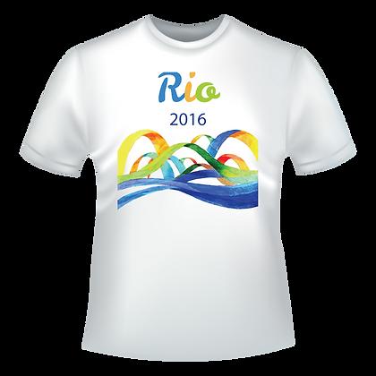 Rio 2016 vagues multicolores