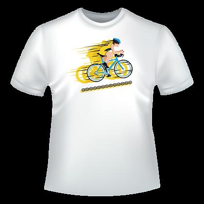 Velo cycliste multicolore