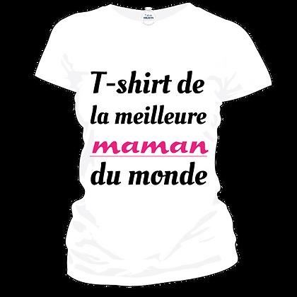 T-shirt de la meilleure maman du monde