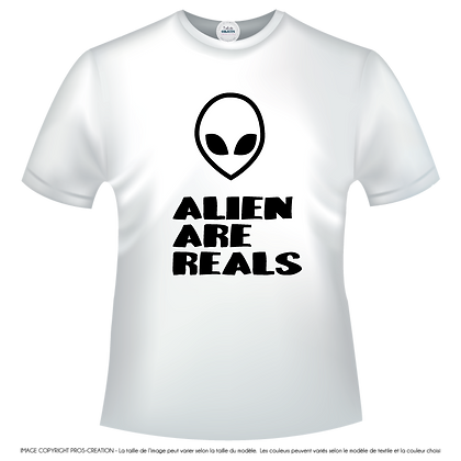 Aliens are reals