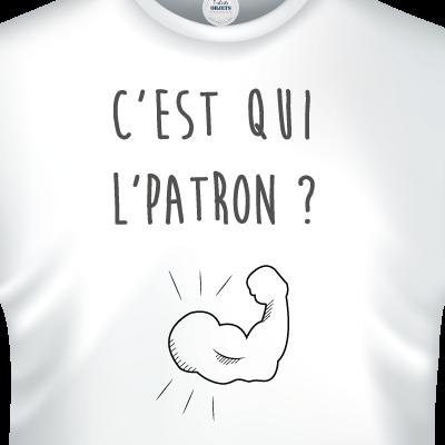 cest-qui-le-patron-zoom-tee-shirts