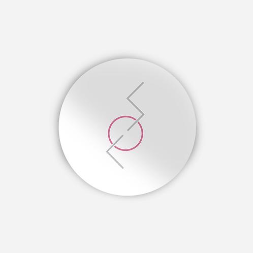 Adesivo logo Supercombo Branco