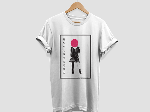 Camiseta Menina Largata