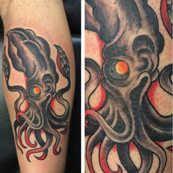Squid by Rob