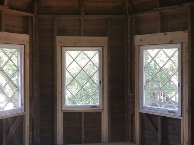 Interior shot new windows