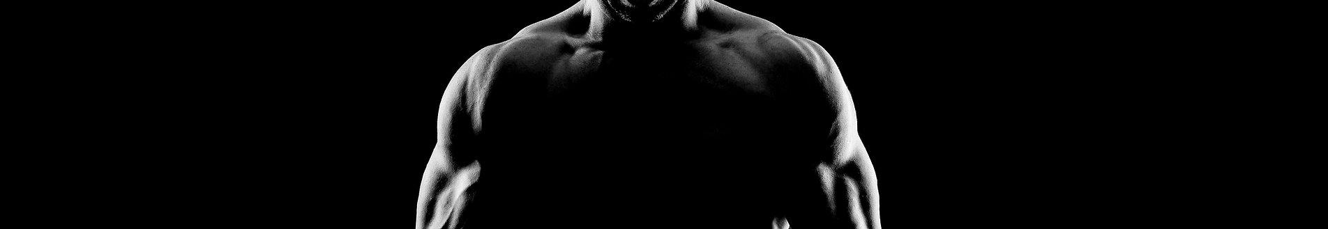 젊은 근육 남자