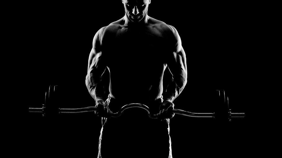 若い筋肉マン
