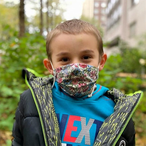 Masque Beco enfant motifs