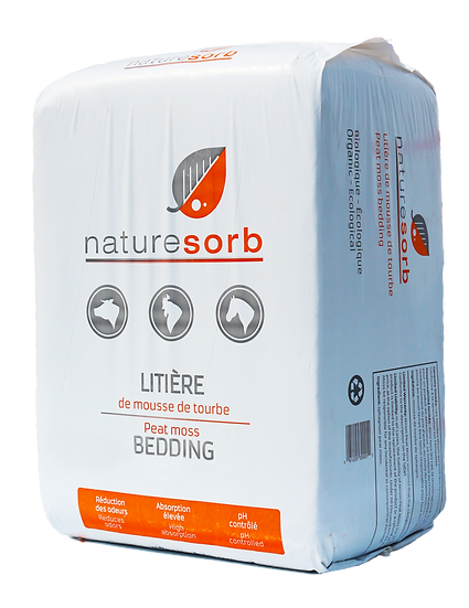 NATURESORB PEAT MOSS BEDDING