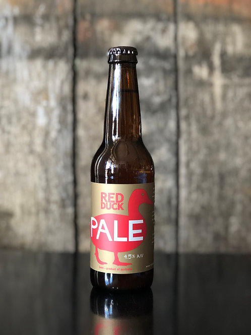 Red Duck Brewery Pale Ale bottles 330mL