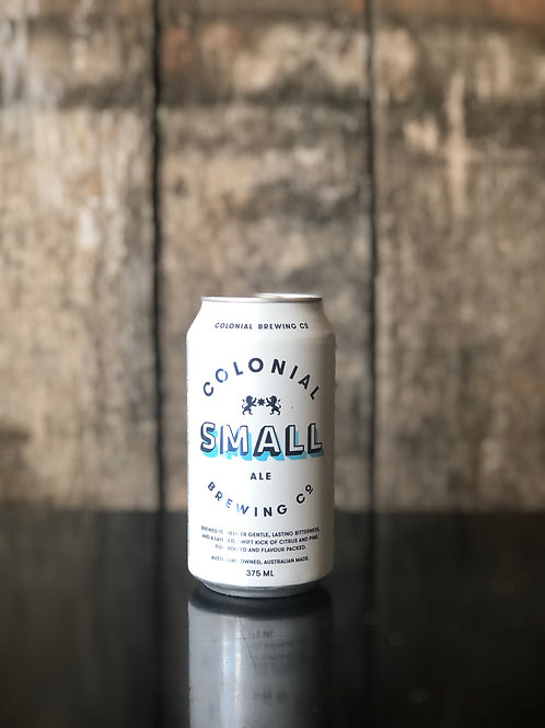 Colonial Brewing Co. Small Ale Cans 375 mL