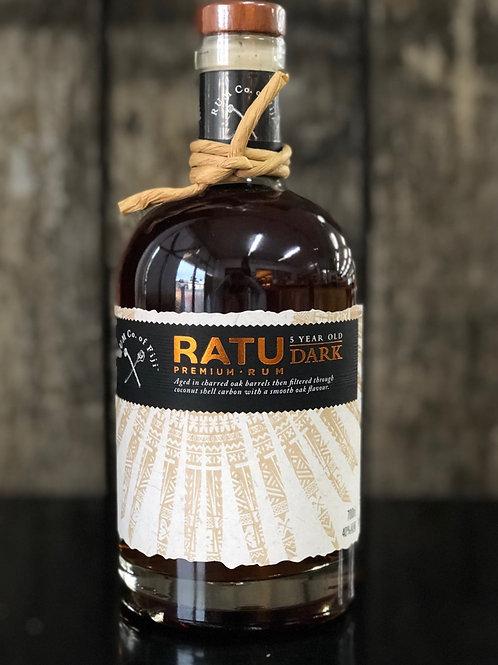 RATU 5 Year Old Fiji Dark Premium Rum 700mL