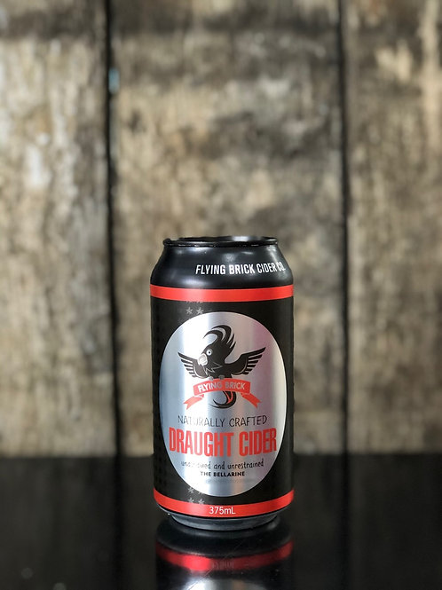 Flying Brick Cider Co. Draught Cider Cans 375mL