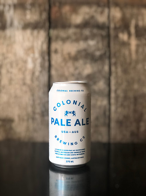 Colonial Brewing Co. Pale Ale Cans 375mL