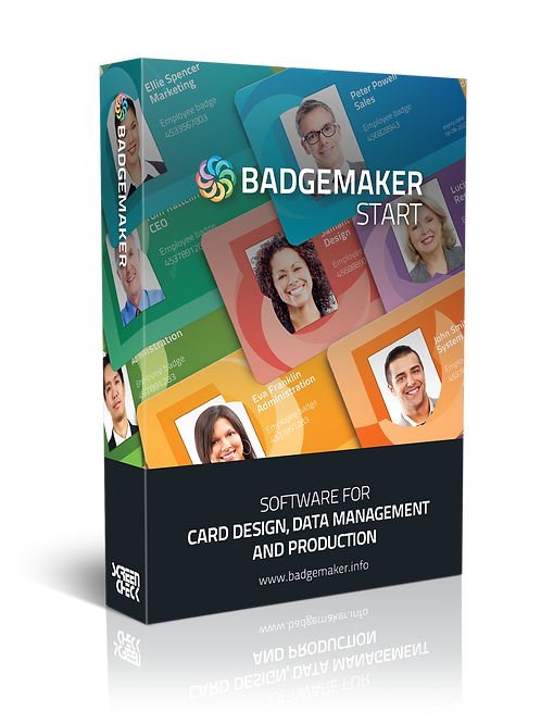 BadgeMaker START – ID Card Software, ID Card Maker, Badge Software
