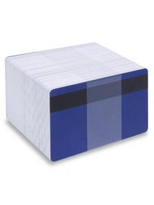 Blank Dark Blue Printable PVC Cards with Mag Stripe - Pack of 100 (DBLMAGPVC760)