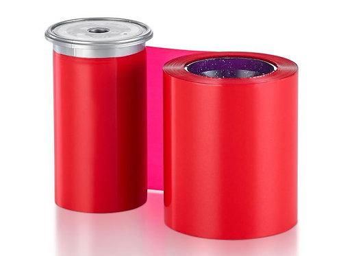 Entrust Monochrome Red Ribbon - Prints 1500 Cards (525900-005)