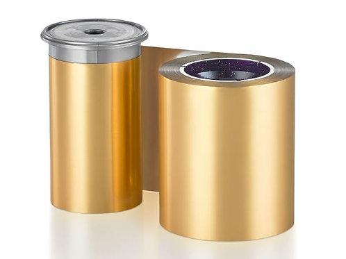 Entrust Monochrome Gold Metallic Ribbon - Prints 1500 Cards (525900-015)