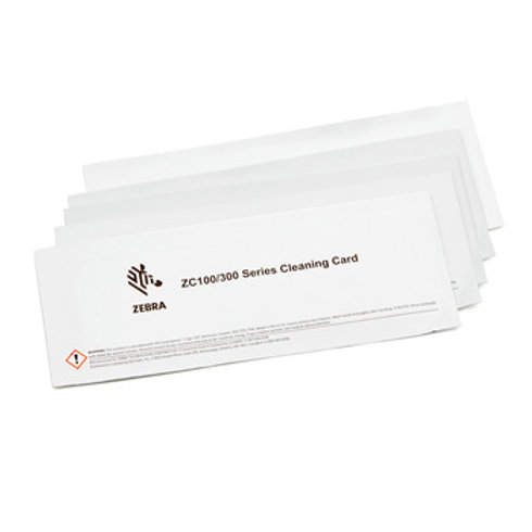 Zebra Cleaning Card Kit, ZC100/300, 5000 Images