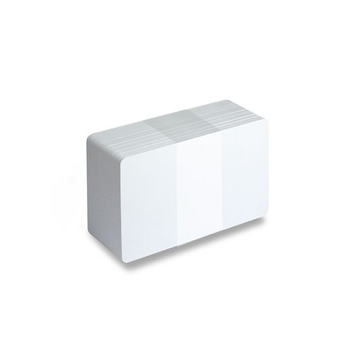 Blank White Printable PVC Cards - Pack of 100 (WHITEPVC480)