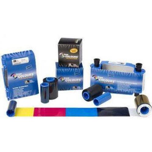 Zebra YMCK) Value Pack - 800015-640 True Colours® i Series™ Print Ribbons