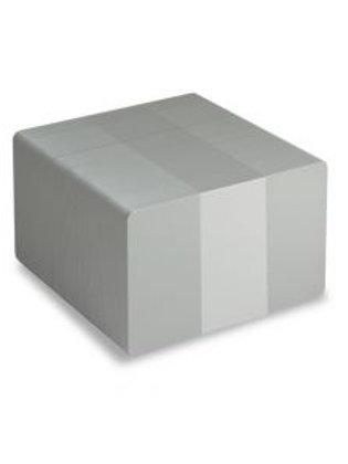Blank Grey Printable PVC Cards - Pack of 100 (GREYPVC760)