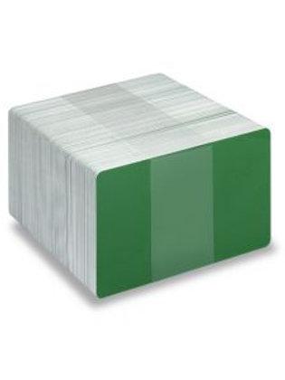 Blank Light Green/White Printable PVC Cards - Pack of 100 (WLGREENPVC760)