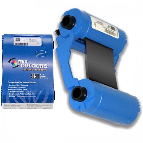 Zebra Black Monochrome 800017-201 True Colours® i Series™ Print Ribbons