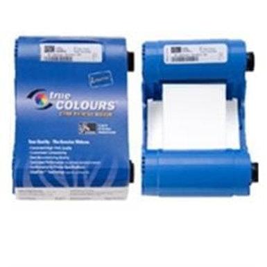 Zebra Metallic White Monochrome 800017-209 True Colours® i Series Ribbon
