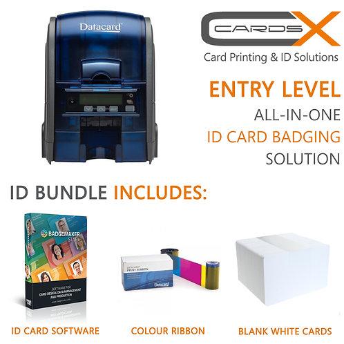 Entry Level ID Card Printing Bundle / Datacard SD160