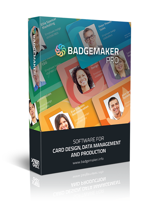 BadgeMaker PRO – ID Card Software, ID Card Maker, Badge Software